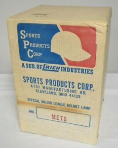 New York Mets Sports Products Copr. Official MLB Helmet Lamp NEW SEALED BC3047