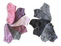 12 Pair Ladies  No-Show Low Cut Socks Size 9-11 Free Shipping