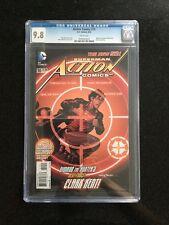 ACTION COMICS # 10 SUPERMAN / The new 52! / CGC Universal 9.8 / August 2012