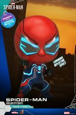 Hot Toys COSBABY Marvel Spider-Man Mini Figure COSB618 Speedy Battle Suit Toys
