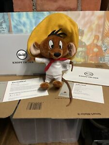Steiff Warner Bros EAN 354632 Speedy Gonzales  Mohair Limited Edition 92/2000