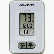 Acurite Add-on/Replacement Base Unit Part Thermometer Clock Receiver 02044W NEW