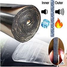 Heat Shield Mat Car Turbo Exhaust Muffler Insulation Hood Fiberglass Cotton