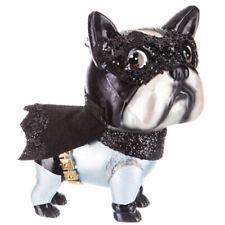 Batman Dog Boston Ornament Robert Stanley Christmas Decorations Glitter NEW
