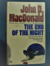 The End of the Night by John D. MacDonald RARE (1987, Paperback) Good