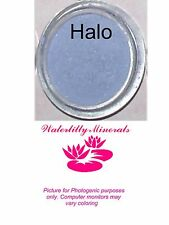 Halo Minerals Eye Shadow Bare Makeup Eyeshadow Blue Lilac Sample Size New/Sealed