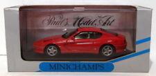 Modellini statici di auto , furgoni e camion rossi marca MINICHAMPS ferrari