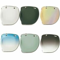 Bell Custom 500 3 Snap Stud Motorbike Motorcycle Helmet Bubble Visor Deluxe