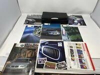 2004 BMW 525i 530i 545i Owners Manual Handbook Set with Case OEM Z0B0189
