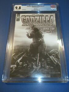 Godzilla Monsters and Protectors #1 Movie Photo Variant CGC 9.8 NM/M Gem Wow