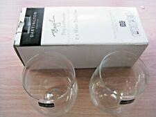 lot de 4 Dartington Crystal Tony Laithwaite Signature Series blanc verres à vin