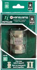 Nutcase puzzle ~ Level 6 ~ BePuzzled Hanayama Cast Metal Brainteaser ~ NEW!