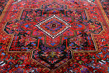 10X13 1940's One In A Million Mint Antique Hand Knotted Geometricherizz Wool Rug