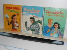 Group of Vtg. Whitman Young Girl Books, Donna Parker by Marcia Martin