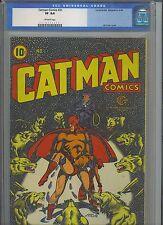 CATMAN #31 CGC VF 8.0; OW; L.B. Cole wolf cvr!