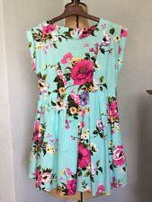 GIRLS Stunning Floral Summer Dress 👗 💐 By George Age 8-9 Years ~ VGC
