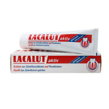 Lacalut AKTIV Medical bleeding gums toothpaste -75ml - FREE Shipping from USA