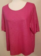 CHICOS Pink top Size 2 sparkly Size Large 12