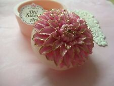 Dahlia flower  silicone Mold Soap  fondant cake decorating  mould FDA approved