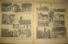 TELEGRAPHE SANS FIL TELEPHONE CINEMATOGRAPHIE AUX ARMéES LE PETIT JOURNAL 1918