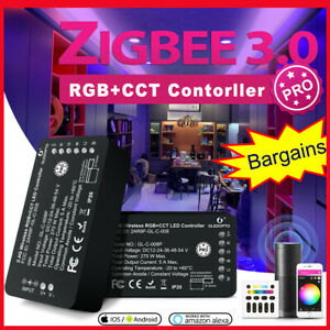 ZIGBEE 3.0 ZLL LED Controller RGB+CCT Smart LED Strip Controller 2020