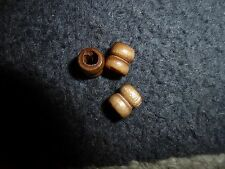 40 x  WOOD BROWN  BEADS  SEWING , ARTS & CRAFTS,  JEWELLERY