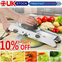 Mandoline Slicer Manual Vegetable Cutter Professional Grater Adjustable Blades Q