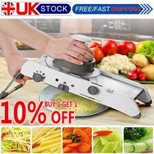Mandoline Slicer Manual Vegetable Cutter Professional Grater Adjustable Blades Q