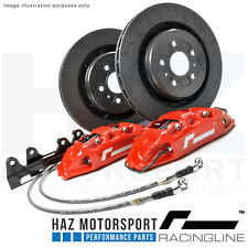 RacingLine Monoblock Performance Big Brake Upgrade Kit VW/Audi/Skoda/Seat RED