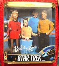 barbie and ken star trek gift set
