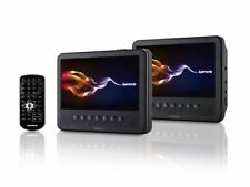 Auto DVD Player 2 x 7 Zoll USB Stereo Fernbedienung Lenco MES-212
