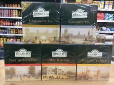 AHMAD TEA sacs ou Loose Leaf Tea-Choisir Parmi 7 variétés ~~ envoi gratuit ~~