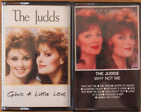 2x THE JUDDS CASSETTE TAPES JOB LOT BUNDLE COUNTRY POP WYNONNA & NAOMI EX COND!