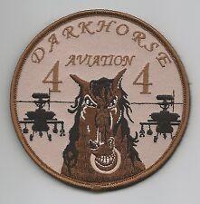 "4-4 AVN ""DARKHORSE"" desert patch"