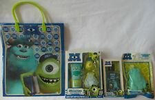 Disney PIXAR Monsters University 4Pack Set-Bath Gift Set, Sponge, EDT, Gift Bag