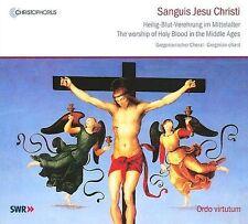 Sanguis Jesu Christi Le Culte du Saint Sang au Moyen-Âge, New Music
