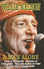 WILLIE NELSON - A Man Alone (UK 14 Trk Cassette Album)