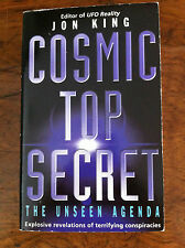 Jon King 'Cosmic Top Secret' FIRST EDITION conspiracy/UFO's RARE in UK (RM211)
