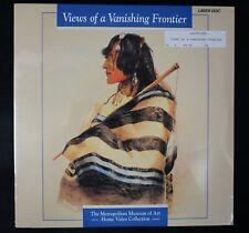 *LASERDISC* VIEWS OF A VANISHING FRONTIER Metropolitan Museum NATIVE AMERICAN