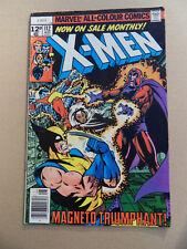 X-Men 112 . Magneto .  Marvel 1978 . FN
