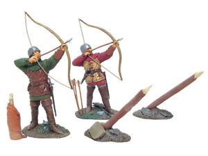 Britains 17728 Medieval War Knights Of Agincourt English Archer Set #1 54mm New