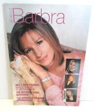 STREISAND Fan Magazine ALL ABOUT BARBRA #61 Actors Studio Soundstage Focker UK