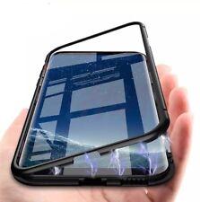 Coque Samsung S9 Magnetique En Metal Noir Coque Etui Housse