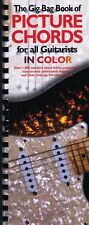 The Gig Bag Book of Picture Chords for All Guitarists in Color - Boo 014012656