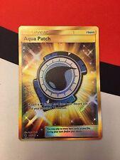 Pokemon TCG Aqua Patch - 161/145 - Secret Rare Gold SM2 Guardians Rising M/NM