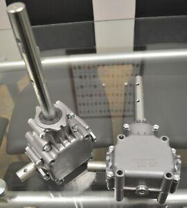 Gearbox to suit Fertilizer Spreader ( ground drive ) 1:3.5 increasing.
