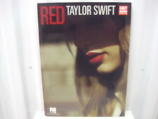 Taylor Swift Red Easy Guitar Sheet Music Song Book Songbook Guitar Tab Tablature
