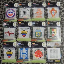 LOT 10 Panini Adrenalyn XL BRAZIL World Cup 2014 country logos  FROM ARGENTINA