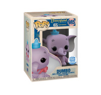 Pop! Dumbo (Purple) #985 And Dumbo On The Casey JR Circus Train #05