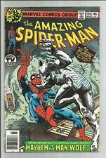 Amazing Spider-Man #190 (1979) Man-Wolf appearance Vf 8.0